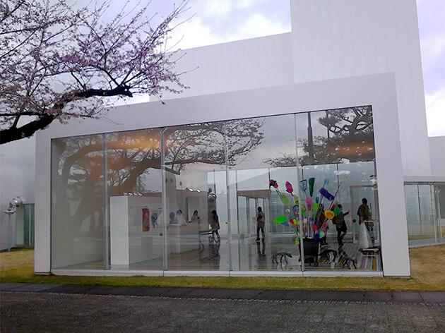 十和田市現代美術館で開催中していた展示
