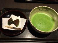 茶寮翠泉 お抹茶と和菓子