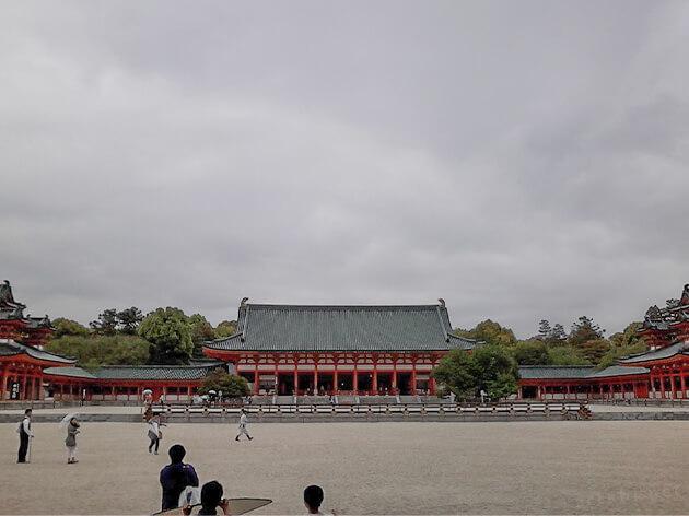 平安神宮の入り口