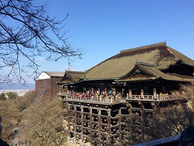 朝9時の清水寺