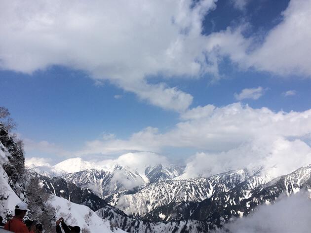 立山黒部アルペンルート 大観峰より