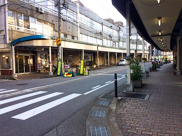 比美町商店街 ここにはまんがロードがある