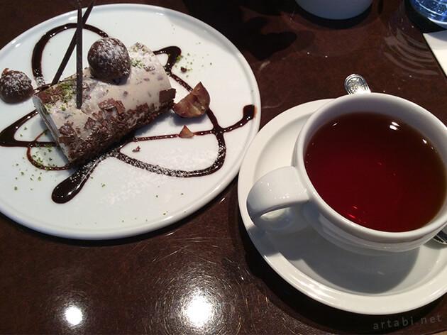 「サロン・ド・テ ロンド」のケーキセット