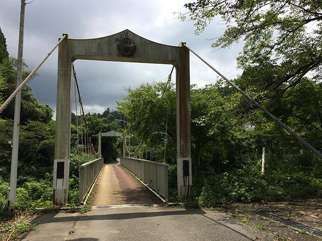 吊り橋・白鳥橋