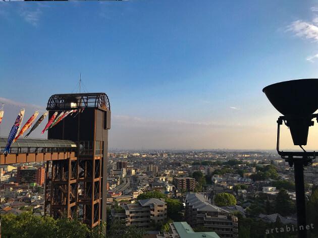箕面観光ホテルから見える眺望