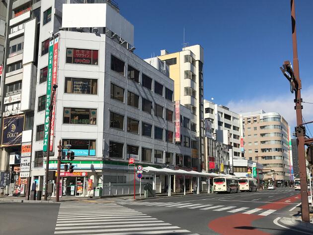 熊谷駅のより、太田市美術館・図書館行きのバス乗り場